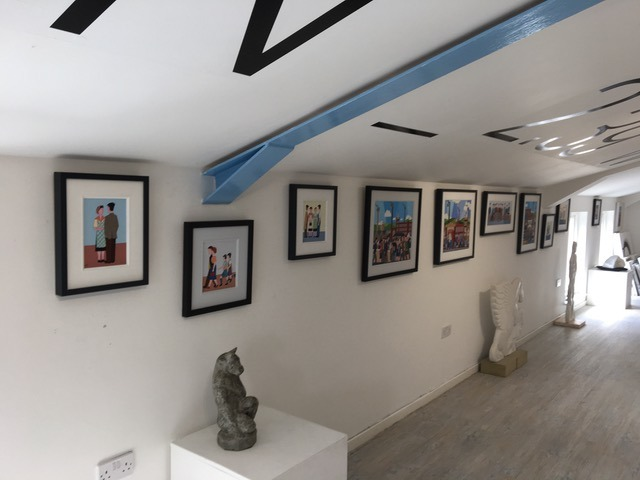 Exhibition at the Longitude Gallery, Clitheroe